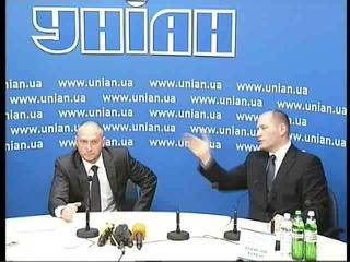 Прес-конферезція Дмитра Яроша. 4 квітня 2014 р.Б.