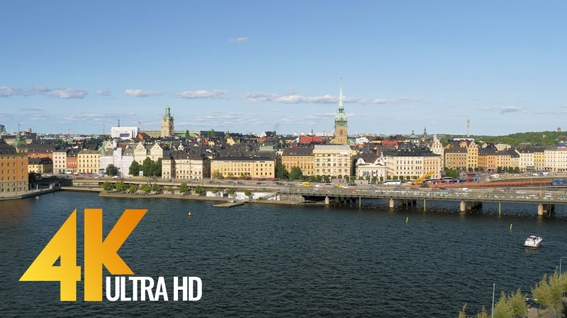 4K Stockholm, Sweden - Cities of the World | Urban Life Documentary Film - Part 1