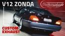 V12 DE ZONDA RONCO INSANO DO MERCEDES S600 BRABUS DE FABIO CASTELOTTI FlatOut Midnight