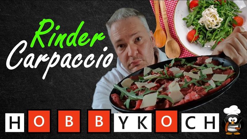 Rindercarpaccio Rezept Antipasti Carpaccio vom Rind 🅷🅾🅱🅱🆈🅺🅾🅲🅷 EINFACH lecker GÜNSTIG kochen LERNEN