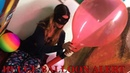Hott Girl ASMR Blowing/Inflating HUGE Balloons Until They Pop 4K