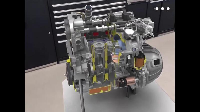 Сервис BG для восстановления двигателя 3D