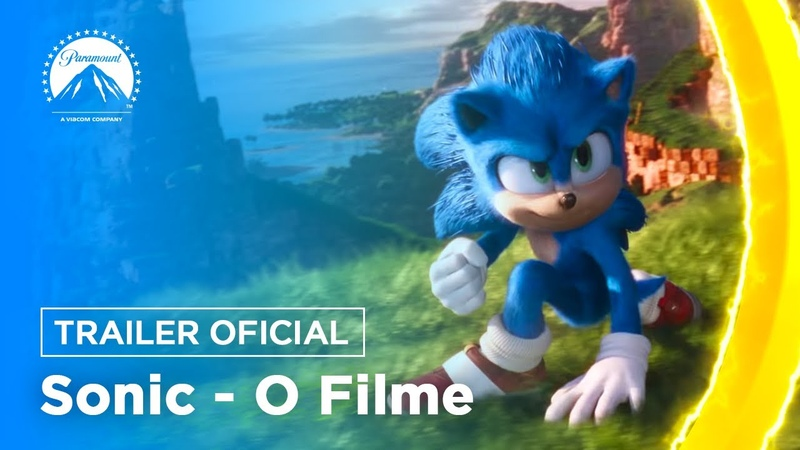 Sonic: O Filme | Trailer Oficial | DUB | Paramount Pictures Brasil