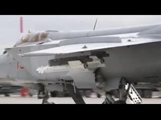 Летно-тактическое учение с летчиками МиГ-31БМ в Астраханской области
