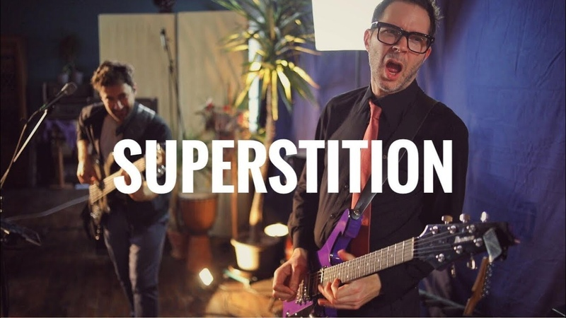 Martin Miller Paul Gilbert Superstition Stevie Wonder Cover Live in Studio