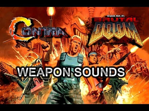 Brutal Doom v21 Gold PC Contra weapon sounds with music download link