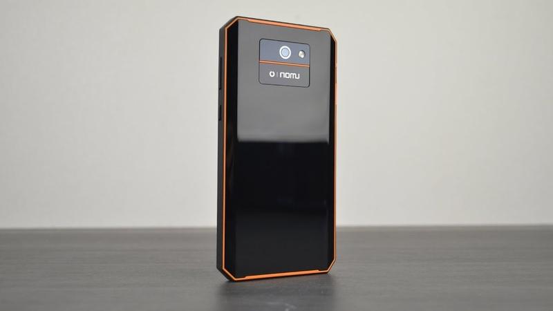 Nomu M6 Pro реально лучший по дизайну защищённый смартфон