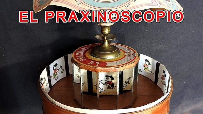 Praxinoscopio El Praxinoscopio animación de imágenes imágenes por reflexión imagen inversa