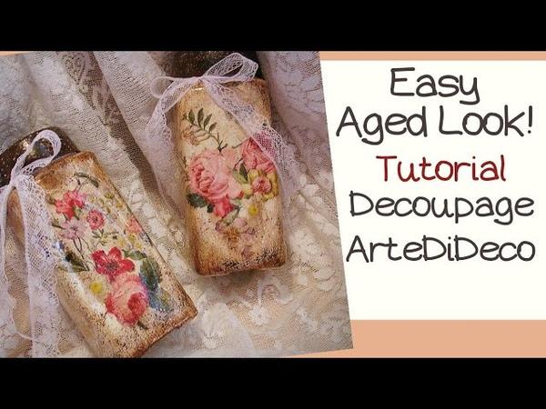 Easy Jars with fast aging Βαζάκια με γρήγορη παλαίωση Frascos con rápido envejecimiento