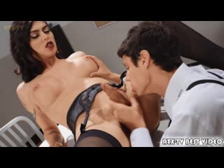 [TransAngels] Domino Presley Kaleb Stryker The Detective and the Dame [Shemale On Male, Hardcore Bareback Cumshot, Cum On Face]