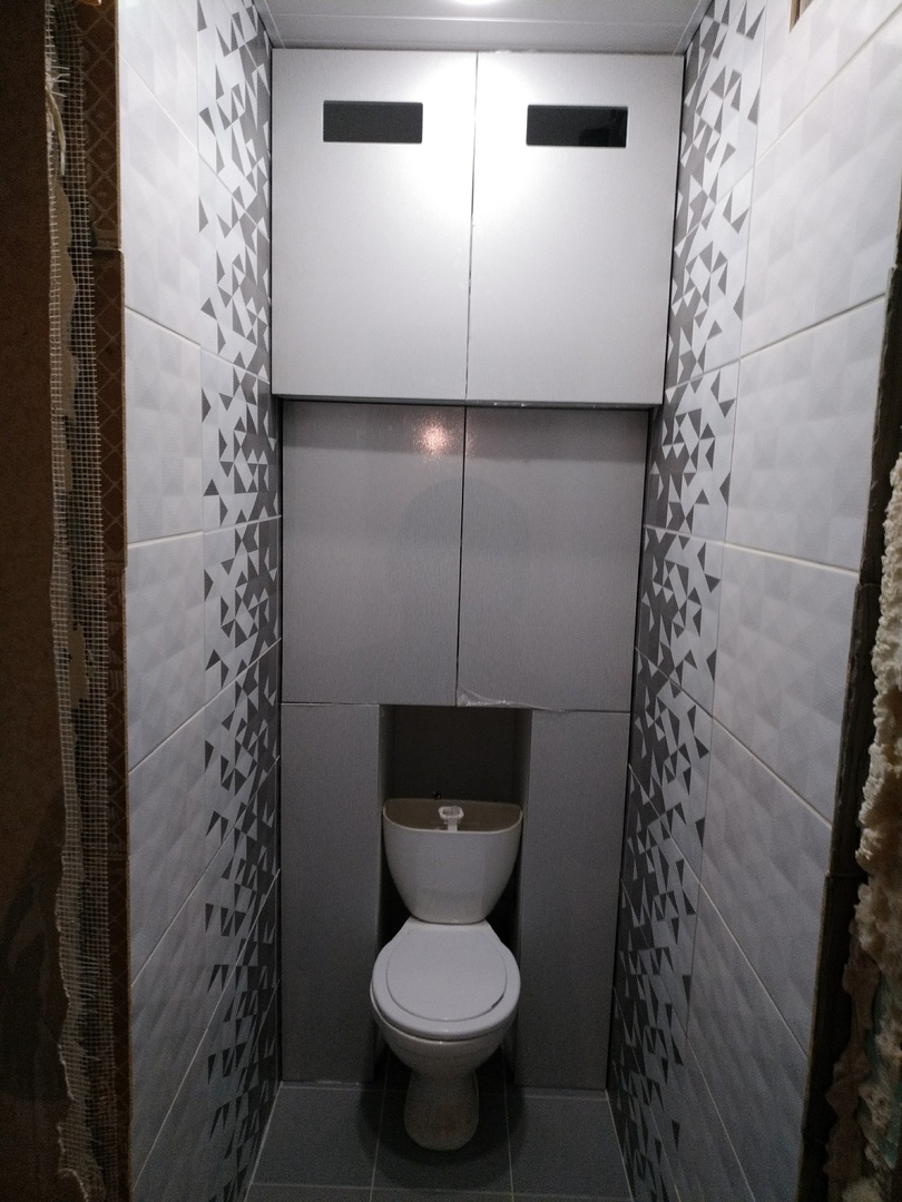 Фасады в туалет