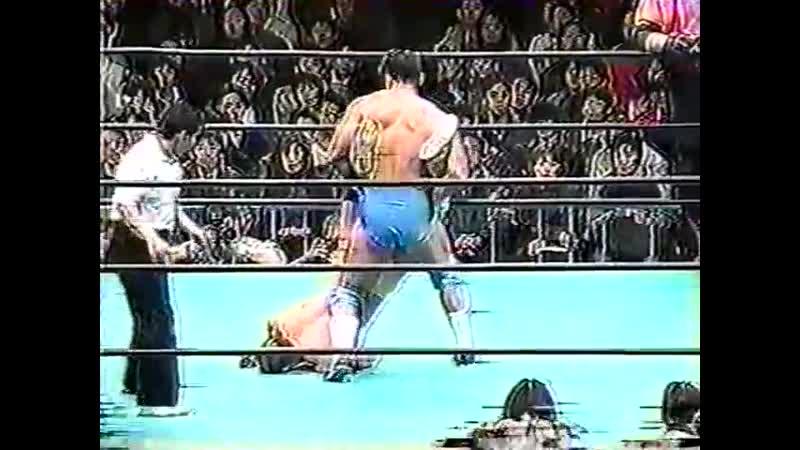 1999.01.22 - Kenta Kobashi/Jun Akiyama/Jinsei Shinzaki vs. Vader/Yoshihiro Takayama/Masahito Kakihara [JIP]