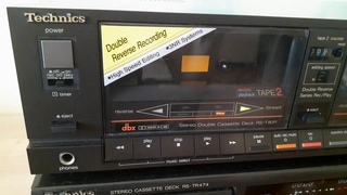 Обзор кассетной деки Technics RS-T80R