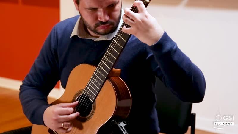 825 (4) J. S. Bach - Partita No. 1 in B flat major, BWV 825 4. Sarabande [German Suite N. 1] - Thomas Riamon, guitar