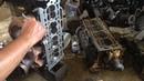 Переборка ГБЦ двигателя XU10J4R - PEUGEOT 406