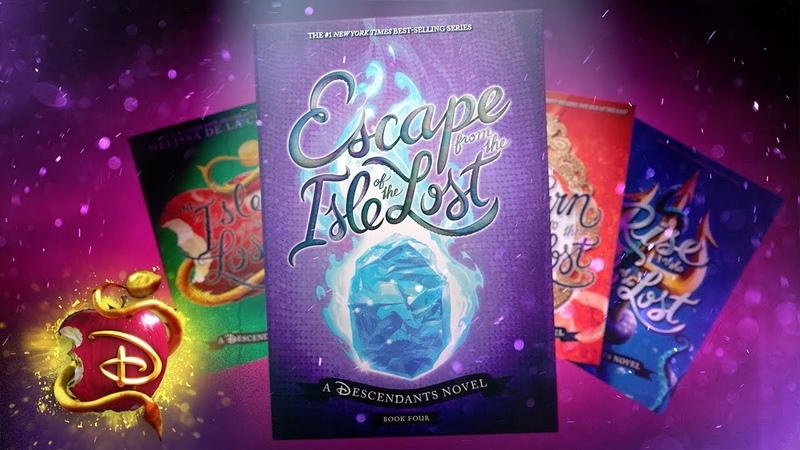 Escape from the Isle of the Lost Disney Descendants