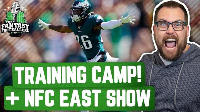 Fantasy Football 2020 - NFL Training Camp! NFC East Breakdown - Ep. 909