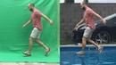 Green screen Chroma key tutorial in 4 minutes walking on water