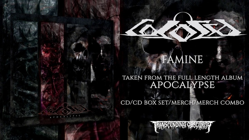 COLOSSO (Portugal) - Famine (Death Metal) Transcending Obscurity