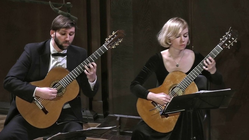 Russian Guitar Quartet - Tchaikovsky - The Seasons April (Snowdrop)