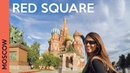 Red Square in MOSCOW RUSSIA Saint Basil's Cathedral tour GUM Vlog 2