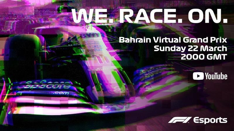 LIVE Bahrain Virtual Grand Prix