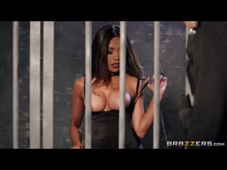 Polly pons - banged behind bars (asian, blowjob, big tits, brunette, criminal, g