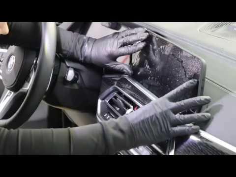 Инструкция по нанесению защитной плёнки на элементы салона BMW Х7 (2019)