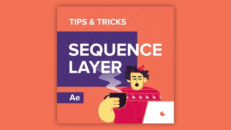 Tips Tricks in After Effects: Sequence layer
