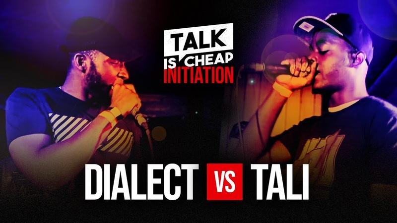 TALK IS CHEAP DIALECT VS TALI GRIME CLASH INITIATION TALKISCHEAP GRIME CLASH