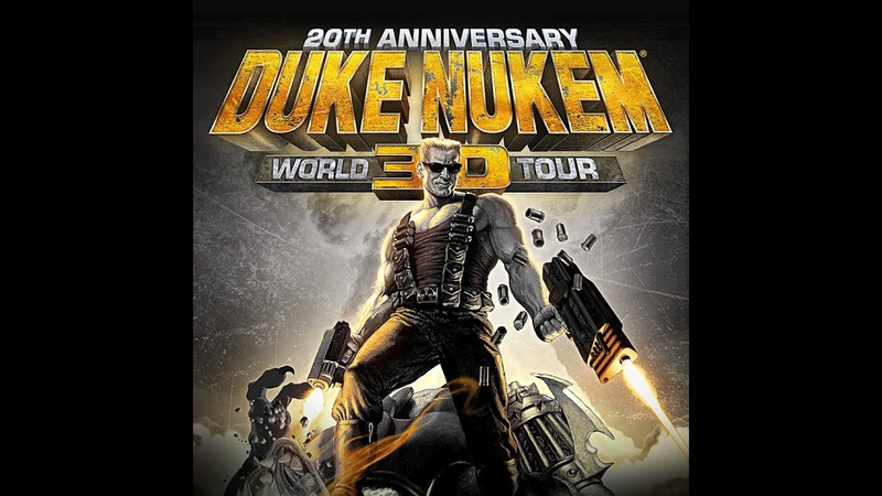 Duke Nukem 3D 20th Anniversary World Tour E4M2 Прохождение на Выкуси