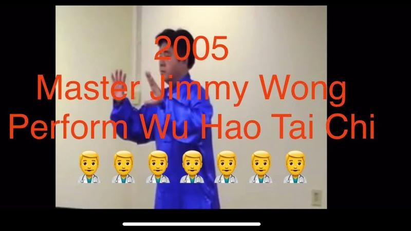 Tai Chi Wu Hao 2005 demo by Master Jimmy Wong