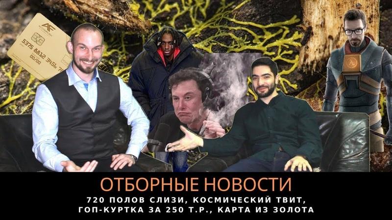 Отборные новости №2 720 Полов слизи Твит из космоса гоп куртка за 250к
