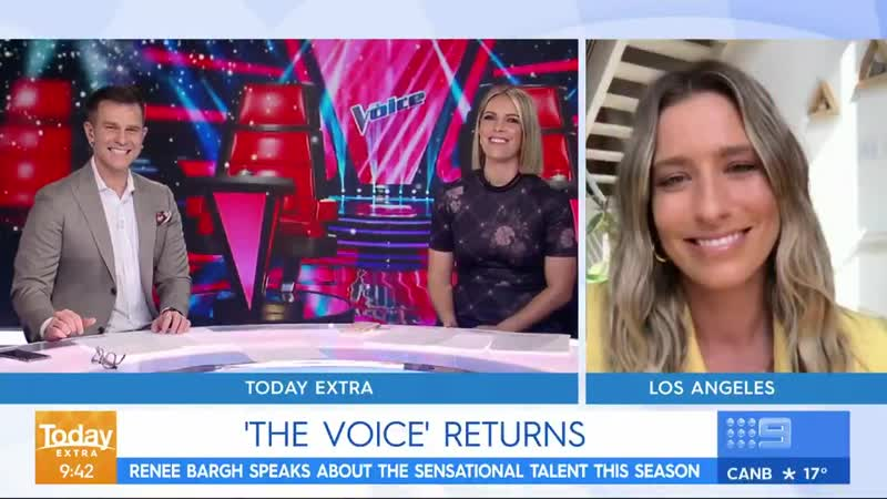 Today Extra Renee Bargh takes us inside The Voice's new season