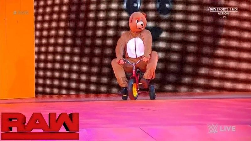 WWE Bear Entrance 6 12 17 HD