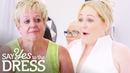 Bride Wows Her Entourage In Wedding Dress After Losing 8 Stone! Curvy Brides Boutique