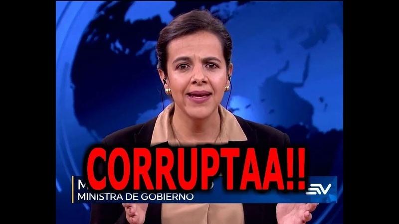 SE DESTAPA LA CORRUPCION DE MARIA PAULA ROMO QUE HARA LA FISCAL 10 20 ANTE TODO ESTO