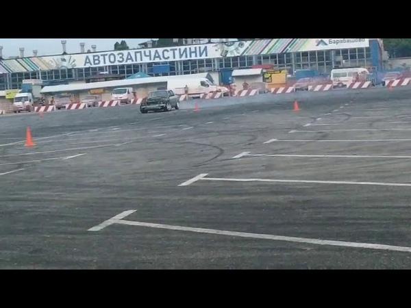 Дрифт bmw 325i e30 m50b25 drift