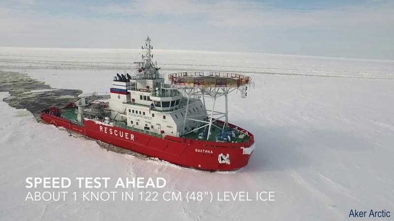 Ледовые испытания Baltika смотреть онлайн без регистрации