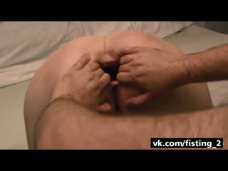 Homemade extreme anal fisting | gape stretching big dildo slut wife pussy loose holes destroyed