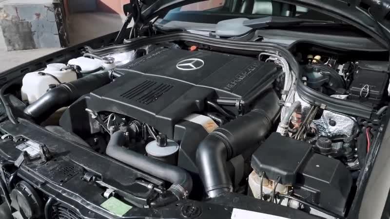 Сверхмощный Мерседес 90 х E500 Волчок Лучший W124 ДорогоБогато Монстры90х