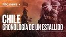 Qué pasa en Chile: Cronología de un estallido |