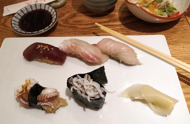 Суши в ресторане (сет 1)