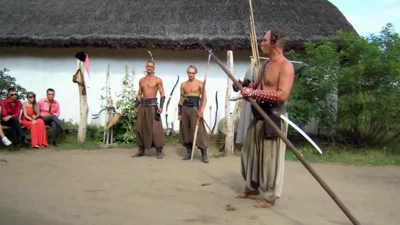 Остров Хортица Запорожская Сечь Боевое искусство запорожских казаков