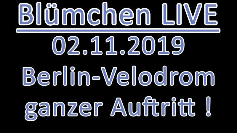 Blümchen LIVE | 02.11.2019 Berlin - Velodrom | ganzer Auftritt
