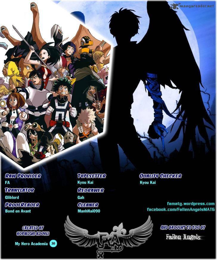 Boku No Hero Academia, Chapter 30, image #1