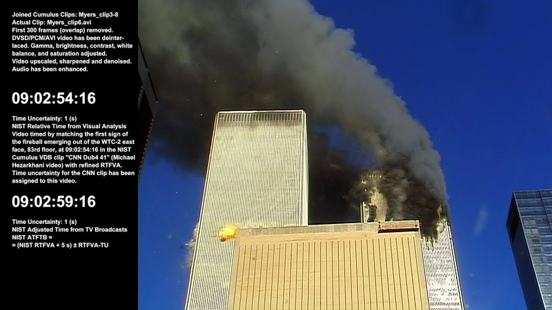 WTC 1 / 8:49:43am - 9:14:07am / E / Raw Video by Scott Myers - Sel. Take 3 of 5