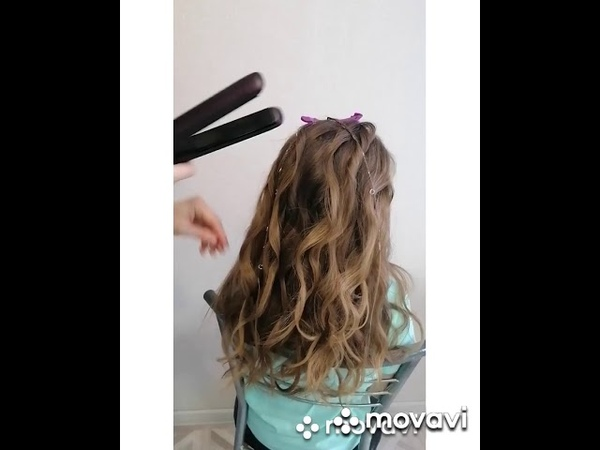 УРОК 5 Небрежная коса на пляжной текстуре