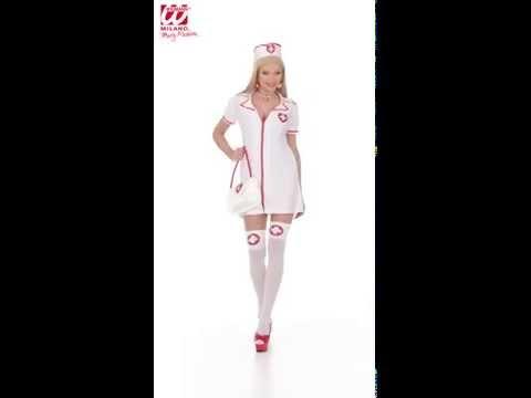 Sexy Infirmary Nurse Costume - Karnival Costumes TV