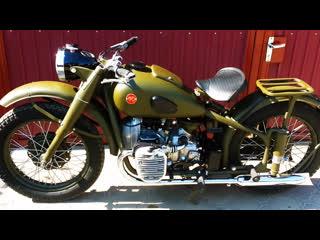 Мотоцикл М-72 после реставрации